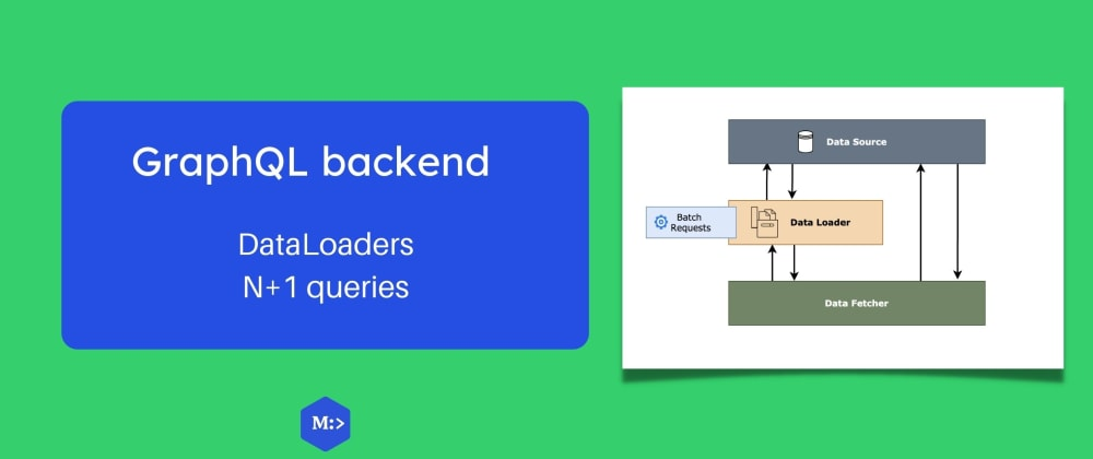 Cover image for GraphQL backend — data loaders