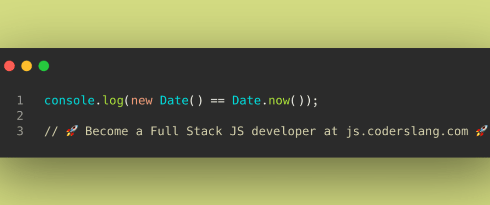 Cover image for JavaScript Interview Question #34: Different ways to get the current date in JS