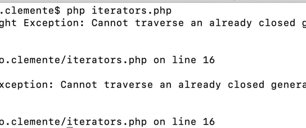 Cover image for Flaws of PHP Iterators
