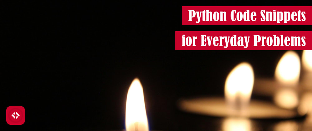 Cover image for 71 Python Code Snippets for Everyday Problems