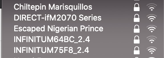 Escaped Nigerian Prince