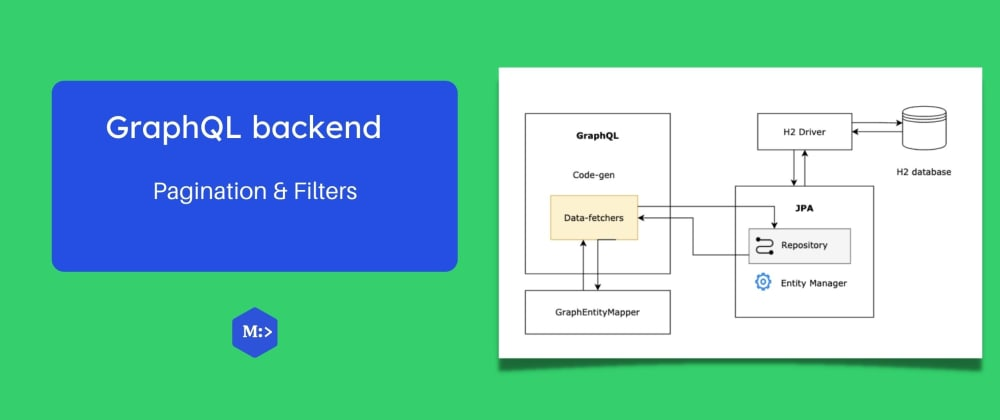 Cover image for GraphQL backend — pagination & filters