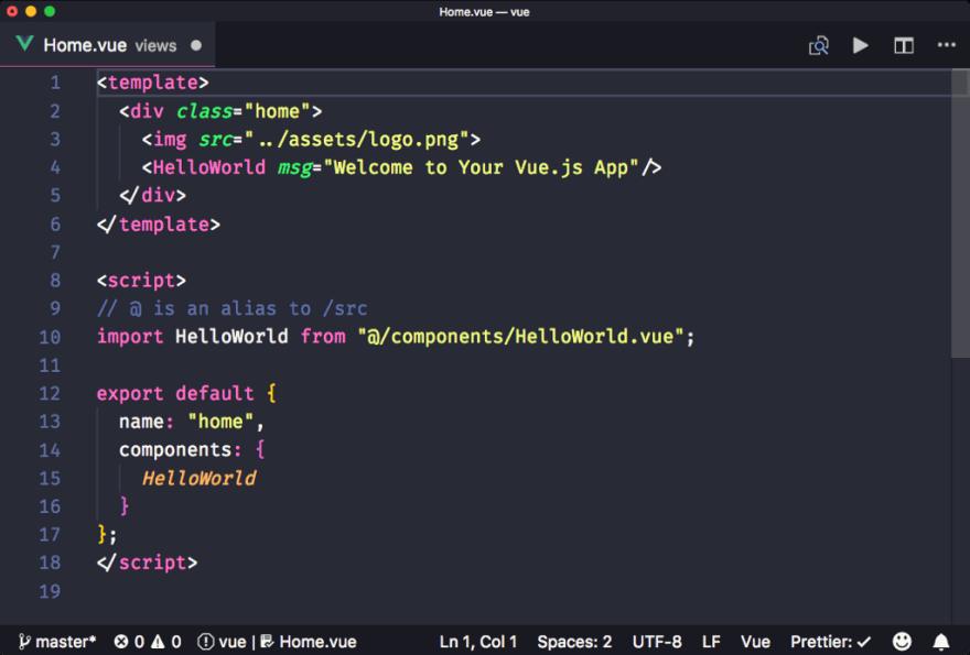 Vetur Extension VS Code