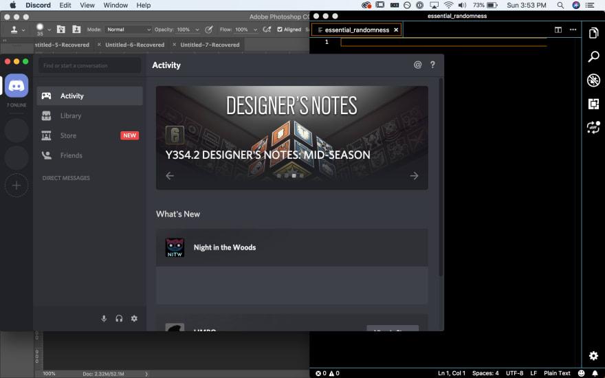 Discord's default minimum window size