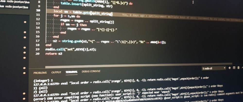 Cover image for Redis Lua Scripting on Lambda Store