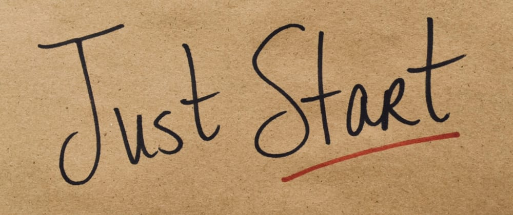 Cover image for Just Start