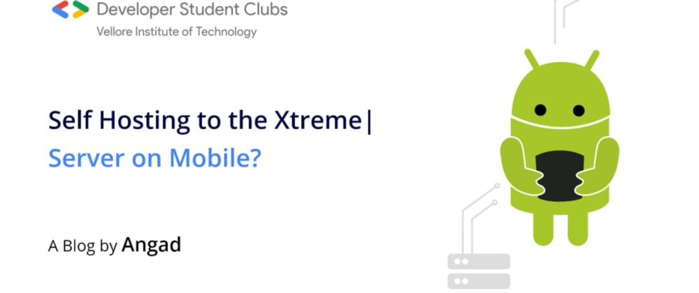 Cover image for Self Hosting to the Xtreme | Server on Mobile?!