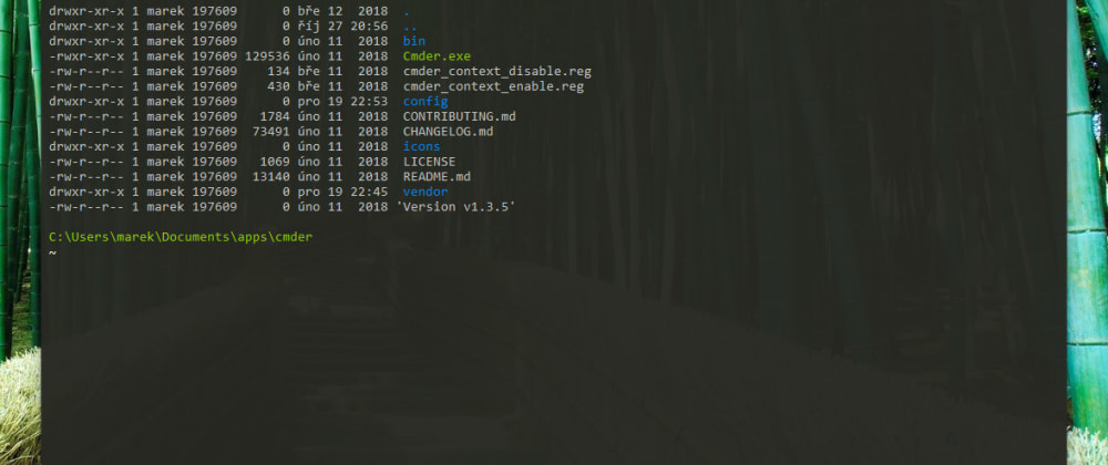 Cover image for Useful tips for Cmder - a Windows command line replacement