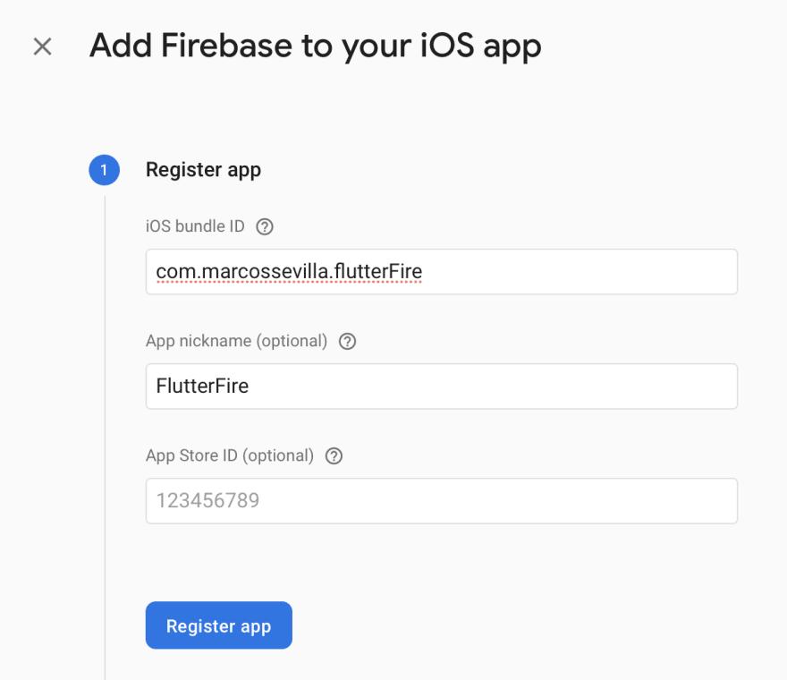 info firebase iOS