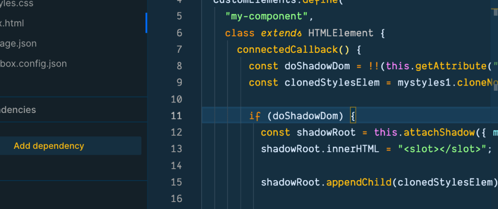 Cover image for Web Components, Shadow DOM, Shadow CSS ;tldr