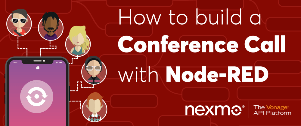 Cover image for Build a Conference Call with Node-RED