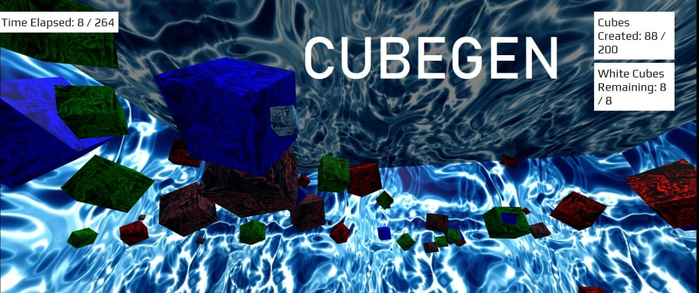 Cover image for Experiments with A-Frame and Javascript Games - Chase the cats and CubeGen.