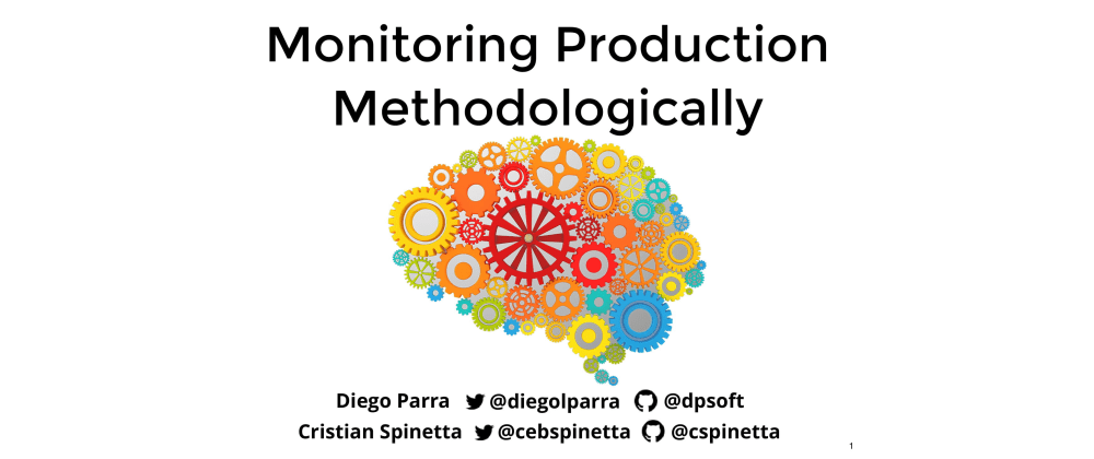 Cover image for Monitoring Production Methodologically (Talk with transcript)