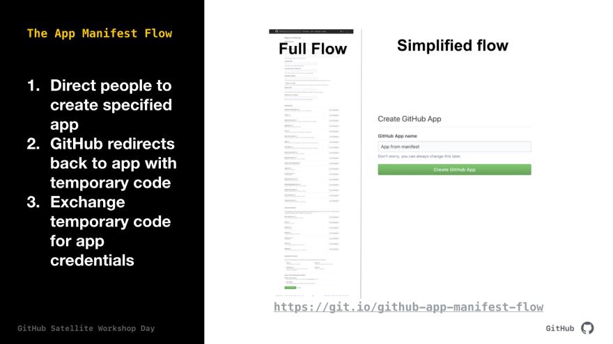 create the app manually