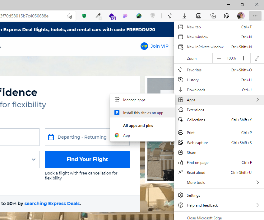 Microsoft Web App