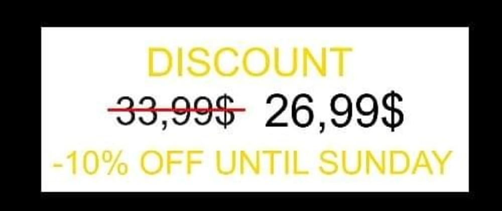 Cover image for 10% OFF