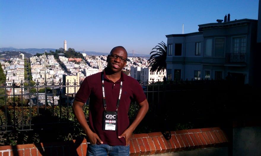 Me at San Francisco for GDC circa 2012