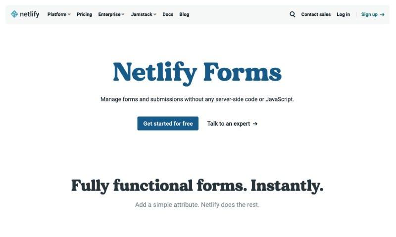 Netlify Forms