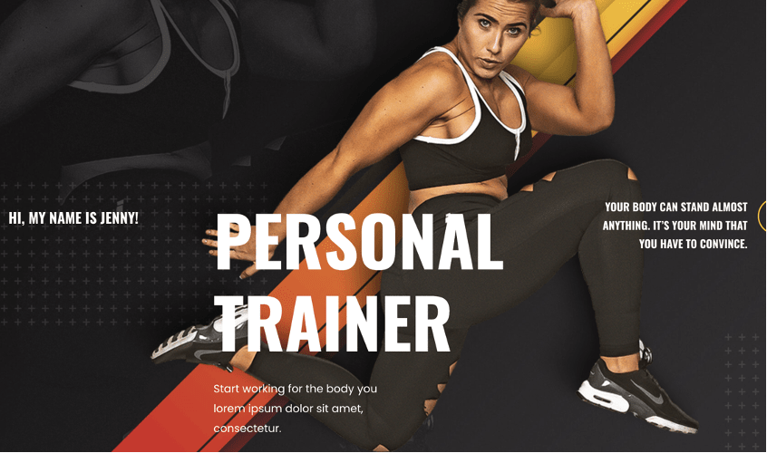 Personal Trainer Ready to Import Website – Astra