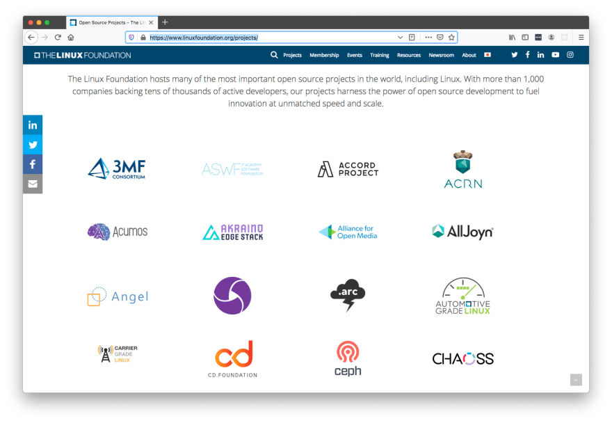 linux-foundation-projects