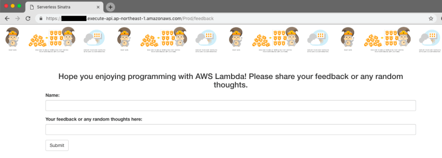 Try to use Ruby and Sinatra app with AWS Lambda - DEV