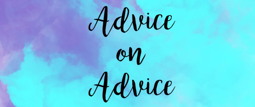 Cover image for Advice on Advice