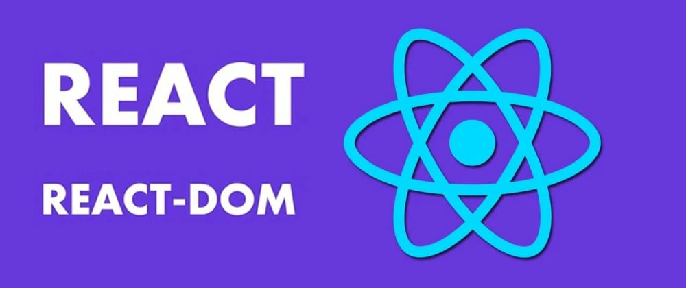 Cover image for ReactDOM