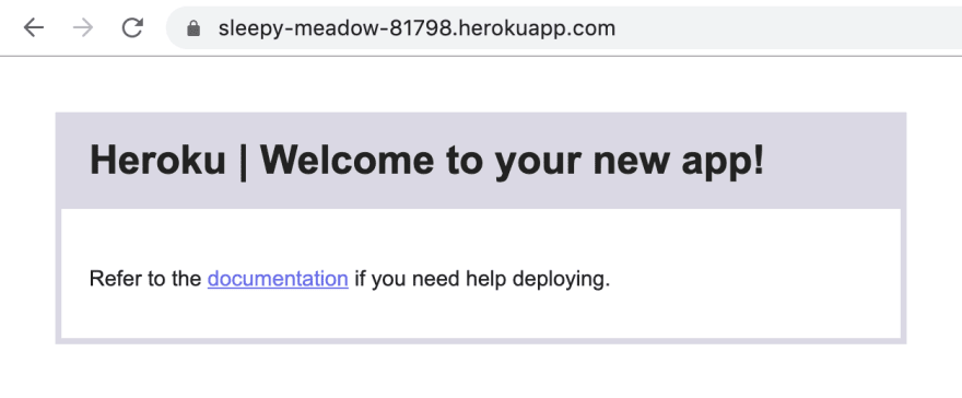 Heroku App