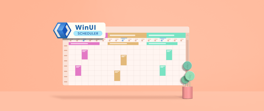 Cover image for WinUI Scheduler: A Smart Tool to Handle Appointments in a Hospital