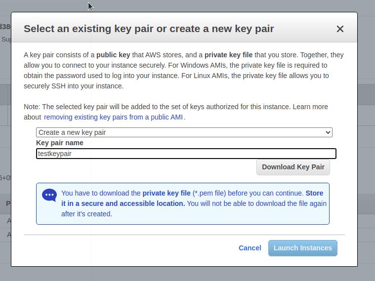 Keypairdialog