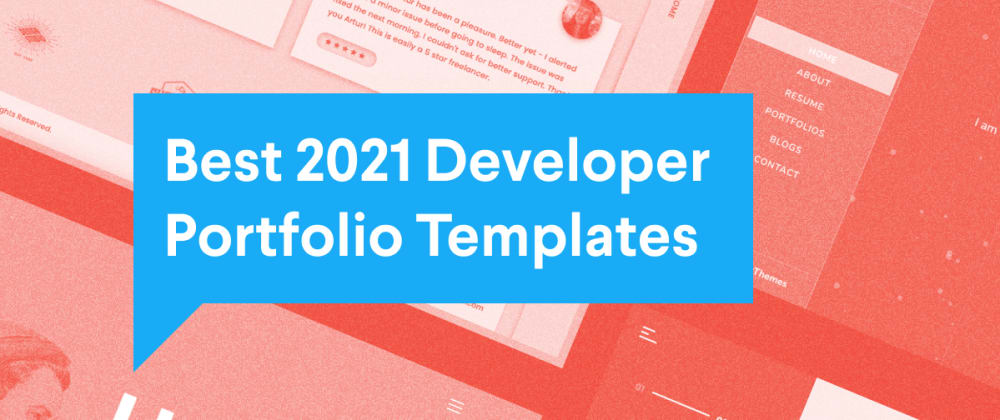Cover image for 5 Best Developer Portfolio Templates of 2021