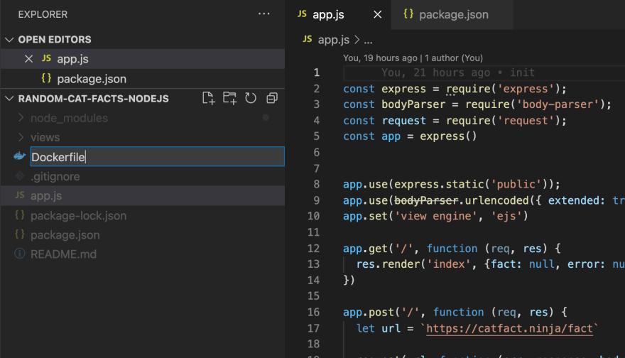 Deploy a NodeJS app to IBM Cloud Container Registry