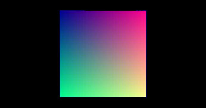 24-bit color palette