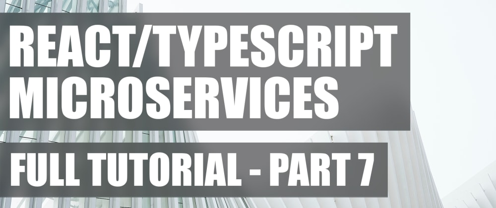 Cover image for Full Tutorial #7: Setting Up a User Session Query Handler | Microservices Chat App Using React, Node.js, TypeScript and GraphQL