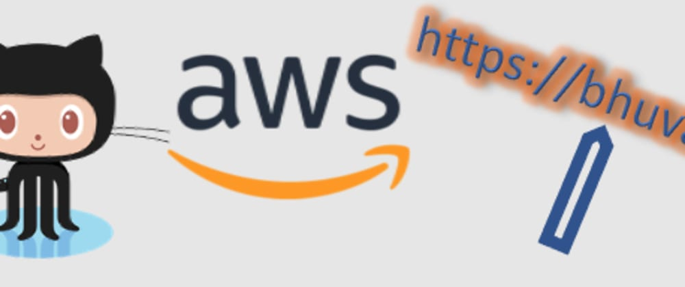 Cover image for CI / CD  for a Static Website hosted on Amazon S3