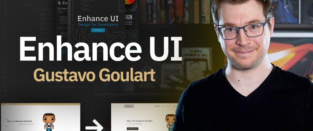 Cover image for Portfolio Design Enhancement - Enhance UI
