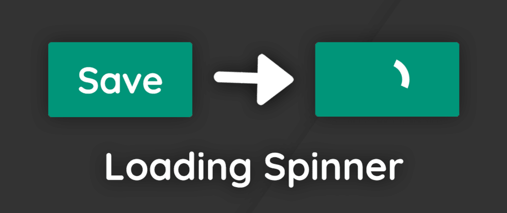 Cover image for Create a Button with  a Loading Spinner in HTML & CSS 🔥