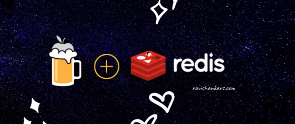 Cover image for brew redis on mac
