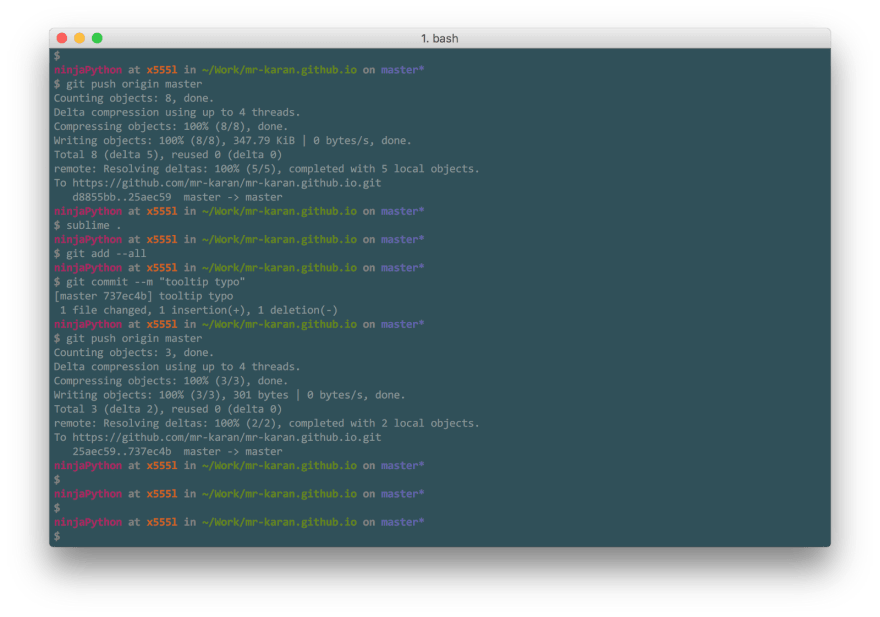 Beautiful terminal experience with iTerm2