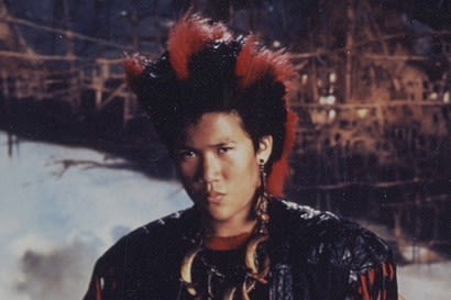"""Picture of Rufio from the movie """"Hook"""""""