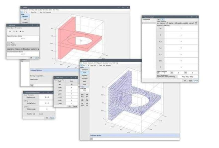 FEATool Multiphysics MATLAB Simulation Toolbox