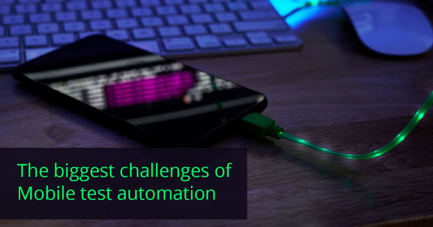 Mobile test automation