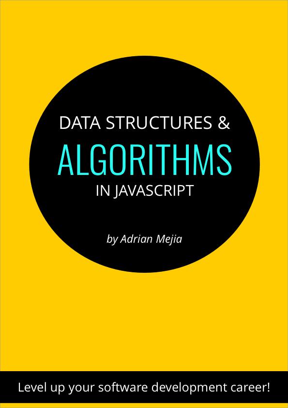 dsajs algorithms javascript book