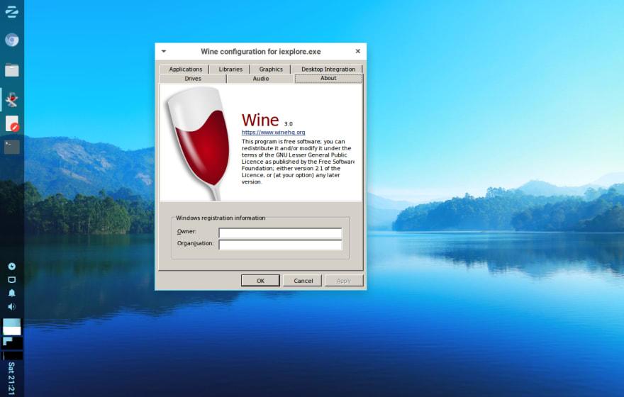 linuxliteos wine