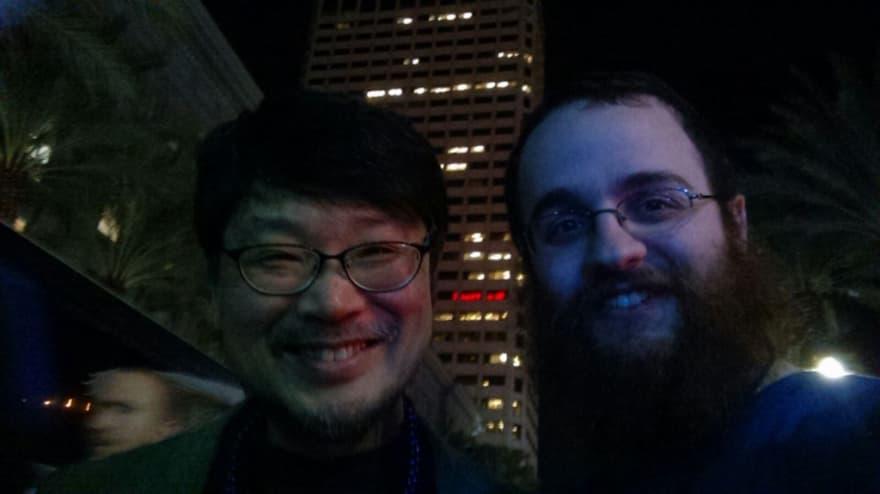 selfie with Matz