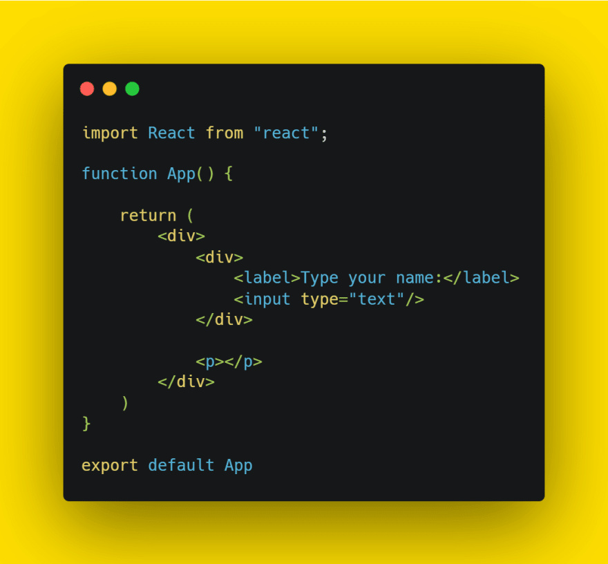 create App component