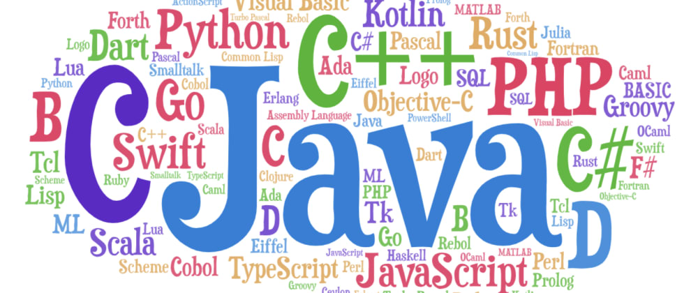 Cover image for Learn these Programming Languages in 2021