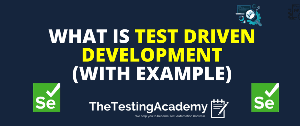 Cover image for 🛑🛑 What is TDD (Test Driven Development)?   How to do TDD with Example 🛑🛑