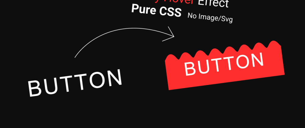 Cover image for How to make Button CSS Hover Effect. Pure CSS Wavy Design. Html button.