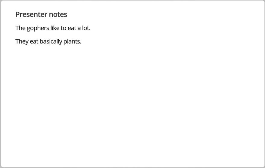 present-notes
